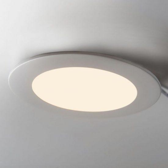 V-TAC PRÉMIUM LED PANEL / 18W / KÖR / 225mm/VT-1807RD meleg fehér 4860