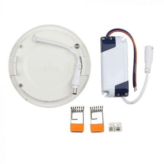 V-TAC PRÉMIUM LED PANEL / 18W / KÖR / 225mm/VT-1807RD hideg fehér 4862