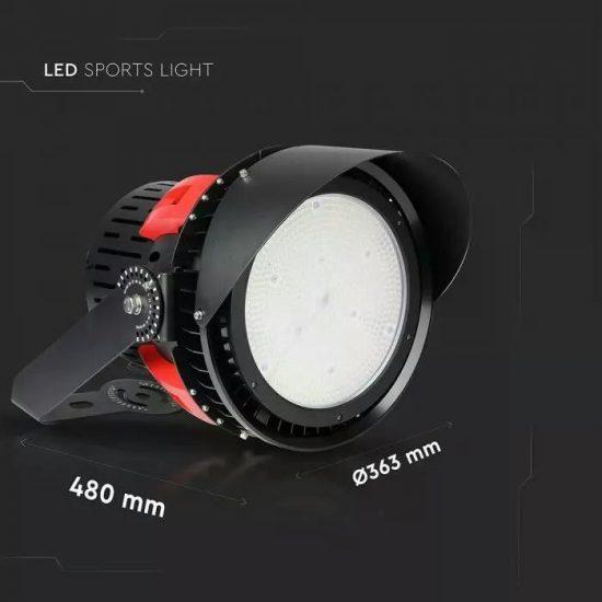 V-TAC LED DIMMELHETŐ SPORT REFLEKTOR / Samsung chip / 500W / hideg fehér - 5000K / Meanwell tápegység / 110° / VT-501D 493