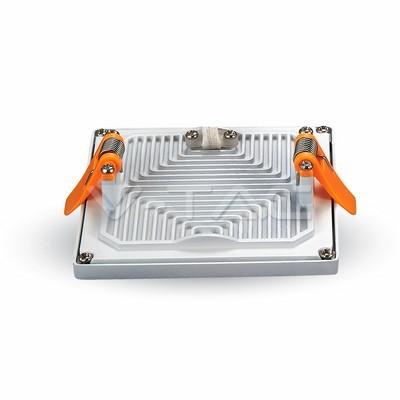 V-TAC SLIM LED PANEL / 22W / NÉGYSZÖG / 170mm / VT-2222 meleg fehér 4949