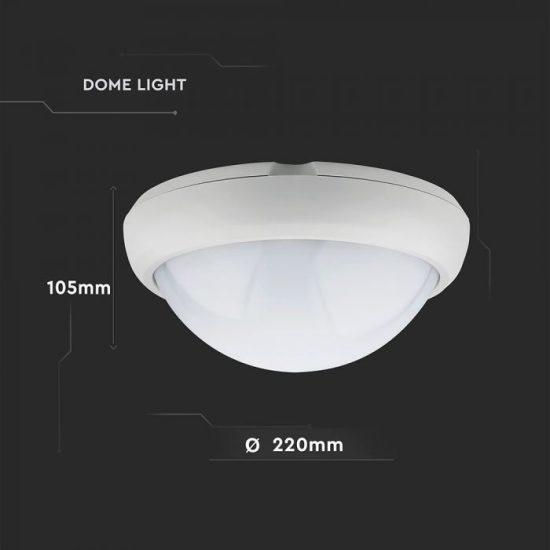 V-TAC LED MENNYEZETI LÁMPA / KÖR / 12W / VT-8015 nappali fehér 5050