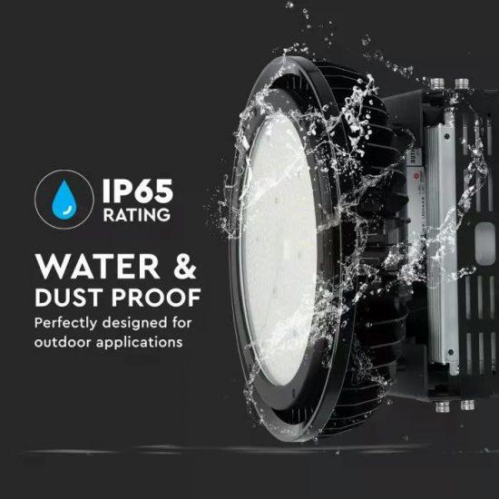 V-TAC LED CSARNOKVILÁGÍTÓ / Samsung chip / fekete / 500W /  nappali fehér - 4000K / IP65 / VT-9-500 509