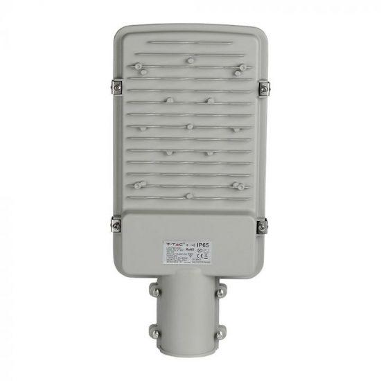 V-TAC LED UTCAI VILÁGÍTÓ / 50W / IP65 / szürke / hideg fehér - 6400K / 6000lumen / Samsung chip / VT-50ST 528