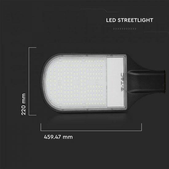 V-TAC LED UTCAI VILÁGÍTÓ / 120W / IP65 / fekete / hideg fehér - 6400K / 12000lumen / Samsung chip / VT-121ST 534