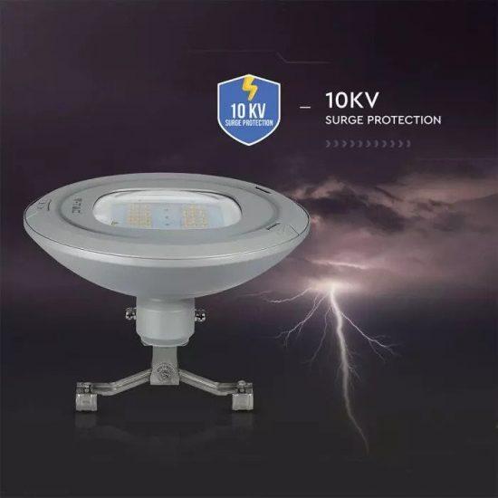 V-TAC LED UTCAI VILÁGÍTÓ / 100W / IP65 / szürke / nappali fehér - 4000K / 13000lumen / Samsung chip / VT-115ST 545