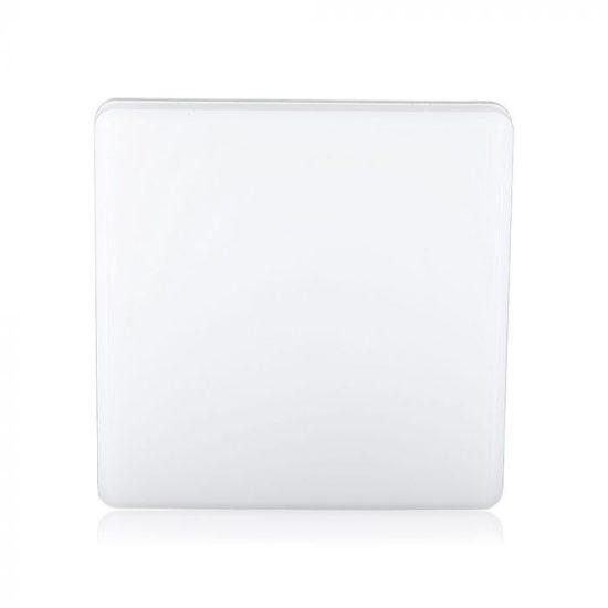 V-TAC LED MENNYEZETI LÁMPA / 15W / NÉGYSZÖG / VT-8033 nappali fehér 55679