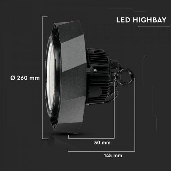 V-TAC LED Csarnokvilágítás / Samsung chip / A++ / 100W / VT-9-102 / 18000 Lm hideg fehér / 567