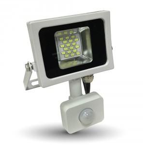 V-TAC LED MOZGÁSÉRZÉKELŐS REFLEKTOR / 10W / 800Lumen / VT-4810-1 PIR nappali fehér 5747