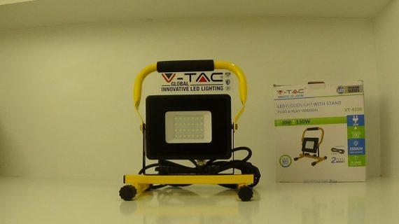 V-TAC LED REFLEKTOR / 30W / 2550Lumen / VT-4230 nappali fehér / 5927