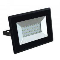 V-TAC LED REFLEKTOR / 30W / fekete / VT-4031 nappali fehér 5953