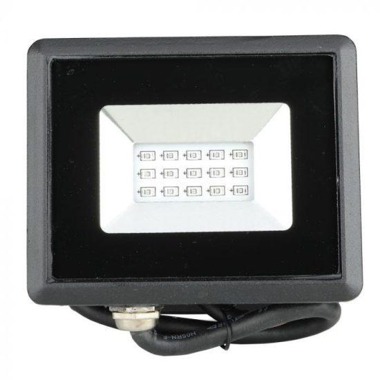V-TAC LED REFLEKTOR / 10W / fekete / IP65 / kék fényű / VT-4011 5990