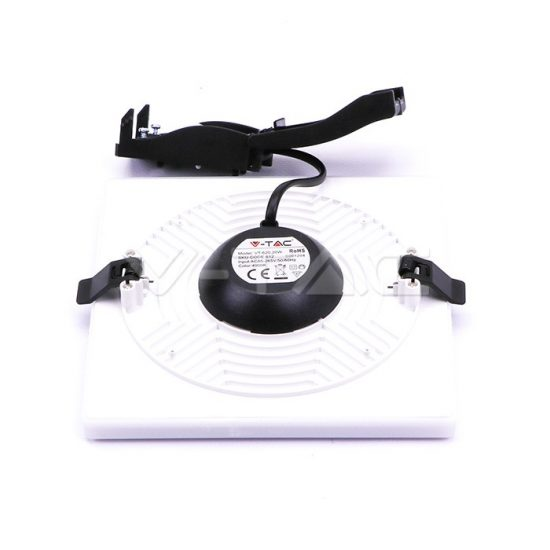 V-TAC MINI LED PANEL / 20W / Samsung chip / NÉGYSZÖG / 170mm x 170mm / VT-620SQ  hideg fehér 613
