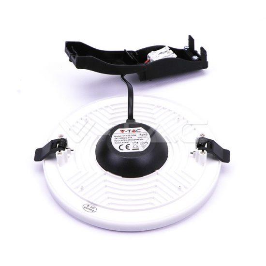 V-TAC MINI LED PANEL / 15W / Samsung chip / KÖR / 120mm / VT-615 RD hideg fehér 622