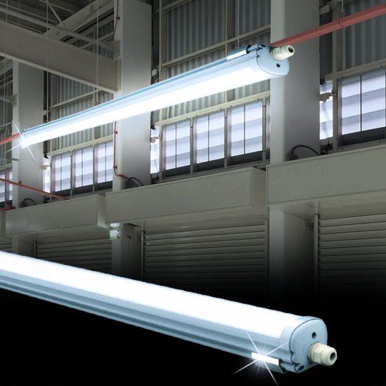 V-TAC LED VÍZMENTES LÁMPA / 36W / 120cm  VT-1249 hideg fehér 6284