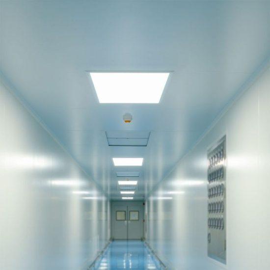 V-TAC LED PANEL / 36w / 4320lm / 600x600mm / vezérlővel / VT-6136 meleg fehér 6376