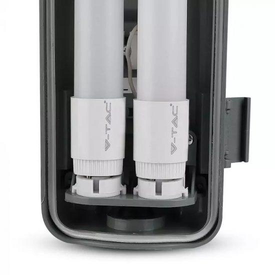 V-TAC LED VÍZMENTES LÁMPATES 2db LED FÉNYCSŐVEL / 36W(2x18W) / 120cm VT-12023 nappali fehér 6387