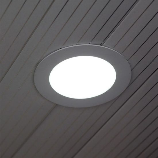 V-TAC PRÉMIUM LED PANEL / 30W / KÖR / 300mm / VT-3107 nappali fehér 6428