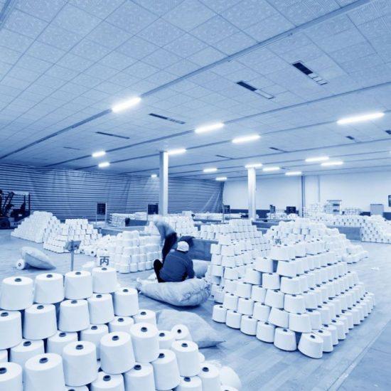 V-TAC LED BÚTORVILÁGÍTÓ / Samsung chip / 150cm / meleg fehér - 3000K / 38W / fehér / IP20 / VT-8338 6493