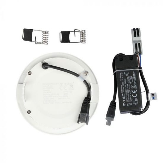 V-TAC MINI LED PANEL / 6W / Samsung chip / KÖR / 120mm / VT-606RD hideg fehér 708