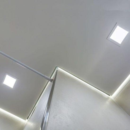 V-TAC MINI LED PANEL / 18W / Samsung chip / NÉGYSZÖG / 225 x 225mm / VT-618SQ meleg fehér 715
