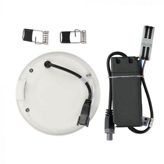 V-TAC MINI LED PANEL / 18W / Samsung chip / KÖR / 225mm / VT-618RD meleg fehér 718