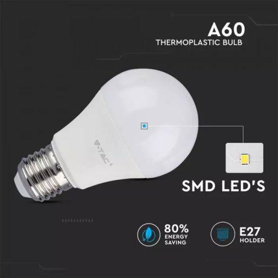 V-TAC LED IZZÓ / E27 / 11W / VT-2112 hideg fehér 7351