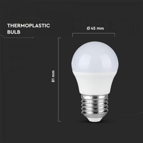 V-TAC LED IZZÓ / E27 / 5,5W / VT-1879 nappali fehér 7408