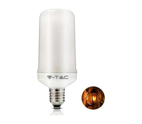 V-TAC LED IZZÓ / E27 / 4W / VT-2135 gyertyaláng effekt