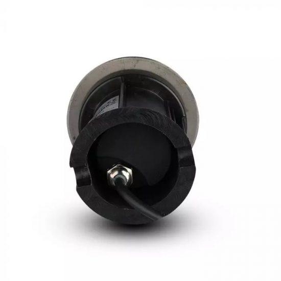 V-TAC LED SÜLLYESZTHETŐ KERTI LÁMPA / GU10 foglalattal / 40cm vezetékkel / kör / max. 35W / fekete / VT-7677 7515