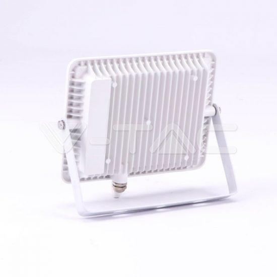 V-TAC LED REFLEKTOR / Samsung chip / fehér / 50W / hideg fehér / IP65 / VT-56 763