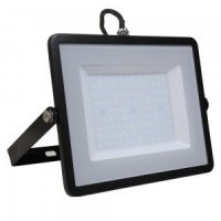 V-TAC LED REFLEKTOR / Samsung chip / fekete / 100W / hideg fehér / IP65 / VT-106 767