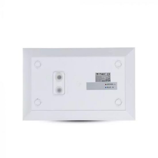 V-TAC VILÁGÍTÓ HÁZSZÁM TÁBLA / Samsung chip / meleg fehér - 3000K / 10W / fehér / VT-7-06 780