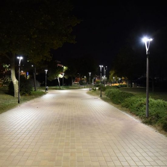 V-TAC LED KERTI-UTCAI VILÁGÍTÓ / 50W / IP65 / szürke / nappali fehér - 4000K / 6500lumen / Samsung chip / VT-55-1 782