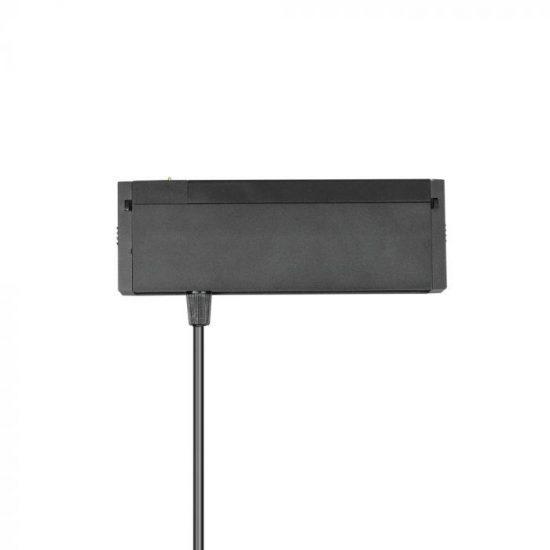 V-TAC LED MÁGNESES FELFÜGGESZTETT LINEÁR SPOT / 15W / DC 24V / meleg fehér - 3000K / fekete / VT-4315 7968