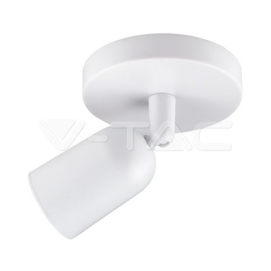 V-TAC Falon kívüli spot lámpatest (1xGU10) fehér - 7980