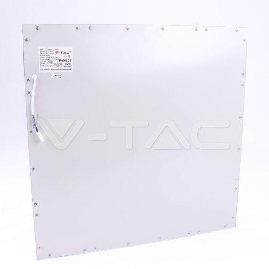 V-TAC LED PANEL / 45w / 3600lm / 600x600mm / CRI>95 magas színvisszaadás /vezérlővel / VT-6245  nappali fehér 8087