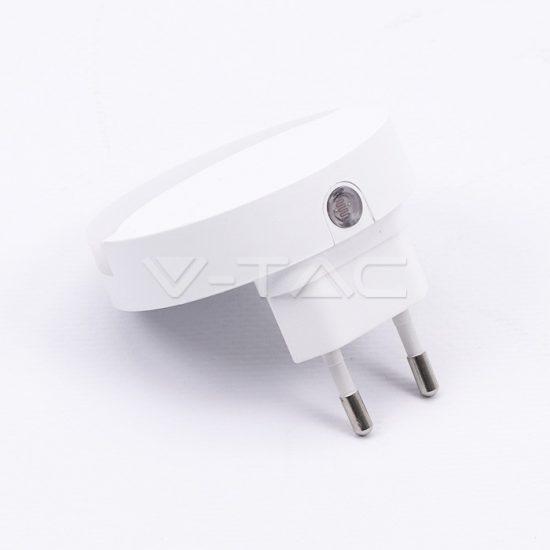 V-TAC LED ÉJSZAKAI FÉNY / 0,5W / Samsung  chip / VT-82 meleg fehér 824