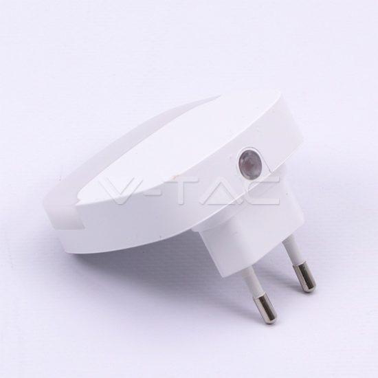 V-TAC LED ÉJSZAKAI FÉNY / 0,5W / Samsung  chip / VT-82 nappali fehér 827