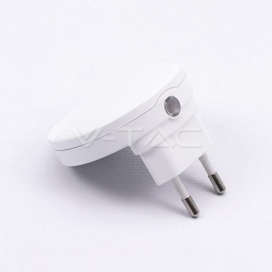V-TAC LED ÉJSZAKAI FÉNY / 0,45W / Samsung  chip / VT-83 nappali fehér 829