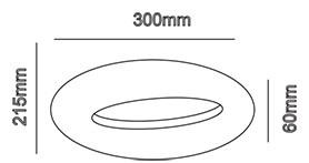 V-TAC LED DESIGN FALI LÁMPA / IP20 / fekete / 10W VT-811 8310