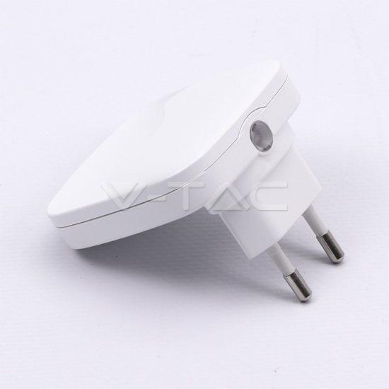 V-TAC LED ÉJSZAKAI FÉNY / 0,45W / Samsung  chip / VT-83 nappali fehér 831