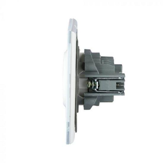 V-TAC  EU KONNEKTOR / süllyeszthető / 16A / fehér / IP20 / VT-5711 8379