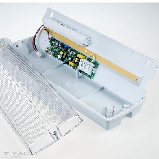V-TAC LED vészvilágítás / 4W / IP65 / Hideg fehér  8382