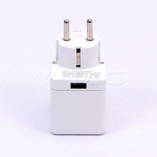 V-TAC LED SMART HOME KONNEKTOR / wifis vezérlés / USB port /  VT-5002 8416