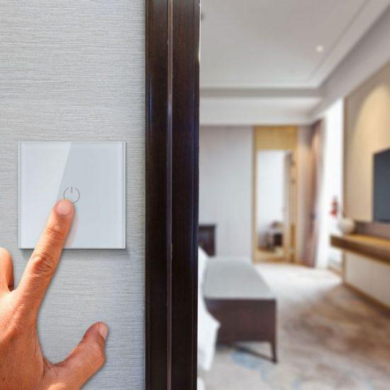 V-TAC LED SMART HOME ÉRINTŐGOMBOS KAPCSOLÓ / wifis vezérlés  / 1 érintőgomb / fehér /  VT-5003 8417