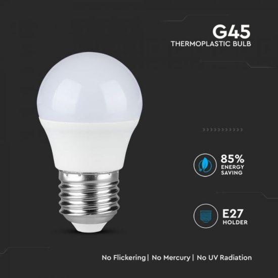 V-TAC LED IZZÓ / E27 / Samsung chip / 7W / VT-290 meleg fehér 866