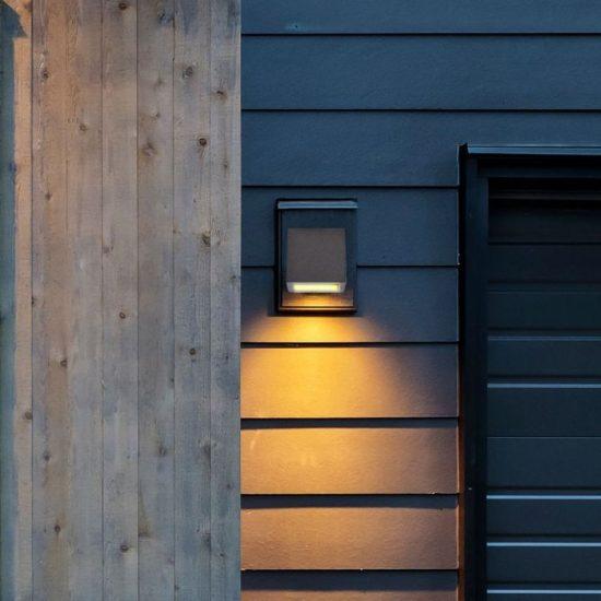 V-TAC LED SPOT OLDALFALI BETONKERET / G9 / 1-foglalat / világos szürke / szögletes / fix / VT-892 8693