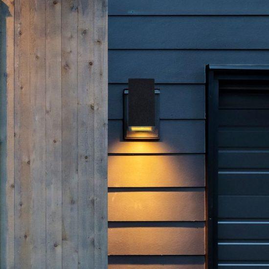 V-TAC LED SPOT OLDALFALI BETONKERET / G9 / 1-foglalat / sötét szürke / szögletes / fix / VT-893 8694