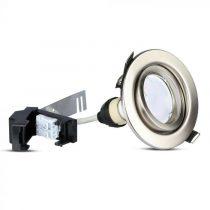 V-TAC LED SPOT CSOMAG (3db) / GU10-keret-csatlakozó / 5W / 110° / nappali fehér - 4000K / 400lumen / VT-4444 8885