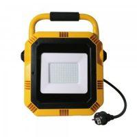 V-TAC LED MUNKAREFLEKTOR / 50W / Samsung chip / nappali fehér - 4000K / fekete-sárga / VT-51 PRO945
